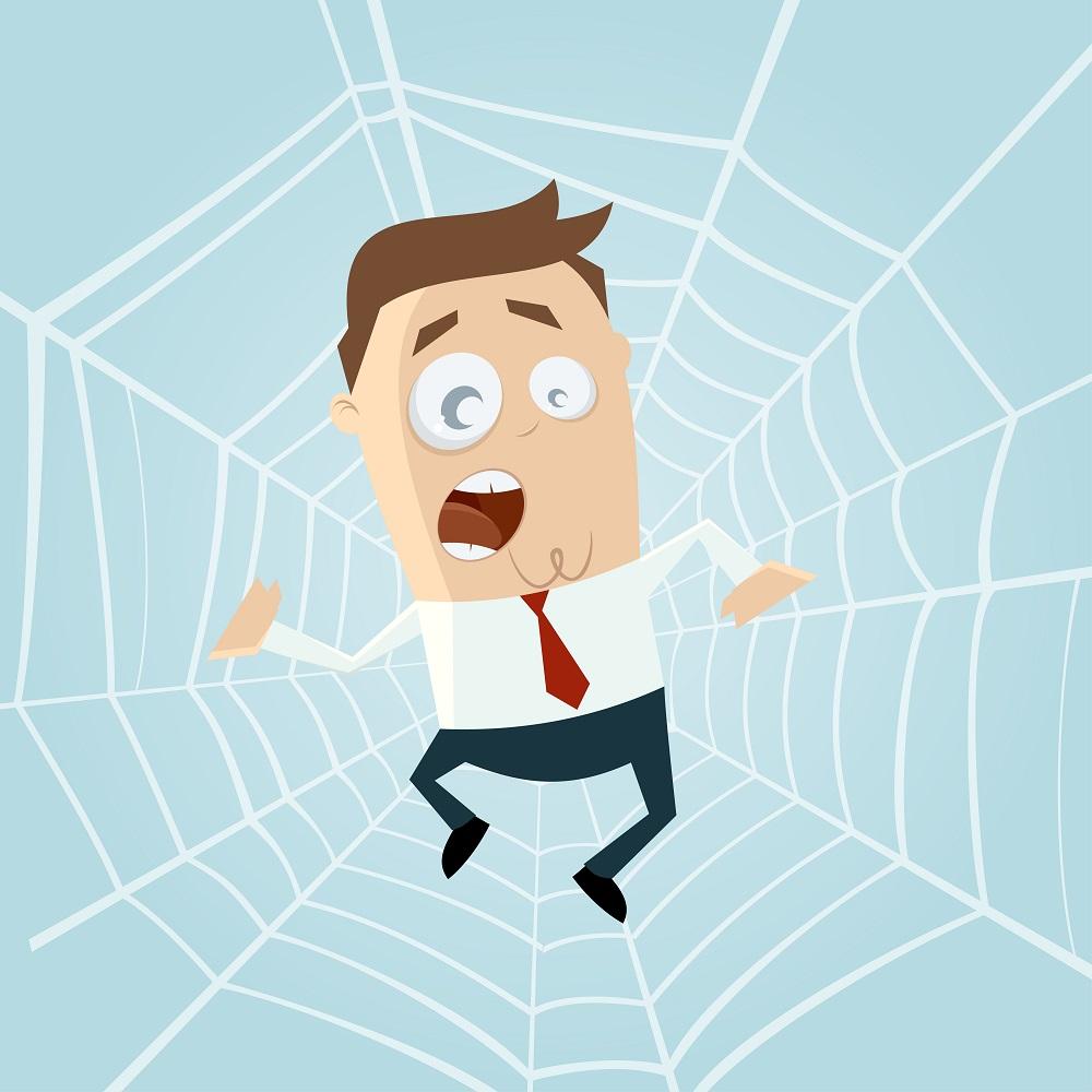 「モラルハラスメント界」を構成しているのは「タガメ女」「カエル男」「蜘蛛」「蛇」です。