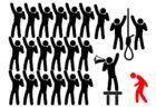 モラルハラスメント[英:mobbing(モビング)]は「精神的な集団リンチ(私刑)」です。これを行う加害者たちは、1人1人が自分の問題や課題と向き合っていません。